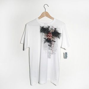 APT.9 • Men's Eagle Wings Armor Graphic Tee (M)